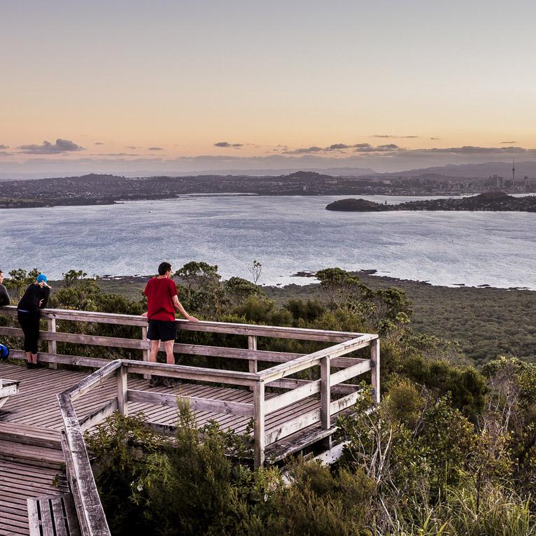 Rangitoto Summit Lookout